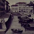 Veduta di altra parte di Livorno sul Fosso detto il Porticciolo