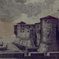 Veduta della Fortezza Vecchia, Bocca e punta del Molo