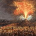 Festa alle Cascine dell'Isola in onore di Ferdinando III (Il vulcano di notte)