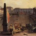 Il palio dei Cocchi in piazza Santa Maria Novella