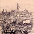 Veduta di Siena con il Duomo