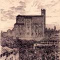 Veduta di Siena con S. Domenico