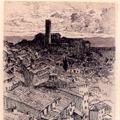 Veduta di Siena dalla Loggia del Palazzo Pubblico