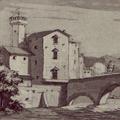 Ponte a Mare visto fuori la Porta che conduce a Livorno