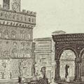 Veduta della Piazza del Granduca