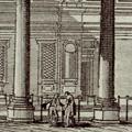 Veduta dell'Interno degli Ufizi di Firenze