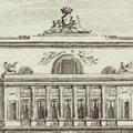 Facciata del Palazzo di S. E. il Principe Don Camillo Borghese