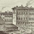 Veduta della Piazza di S. Croce di Firenze