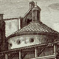 Veduta della Cappella Pazzi nel Chiostro di S. Croce