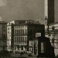 Veduta della Piazza di Siena