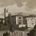Veduta di Monte Oliveto Maggiore