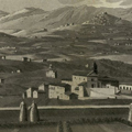 Veduta della Val di Chiana