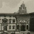 Veduta della Piazza d'Arezzo
