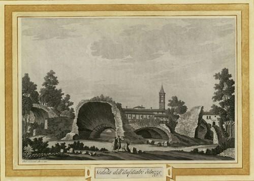 Veduta dell' Anfiteatro di Arezzo