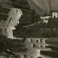 Veduta della Cascata di Valbura