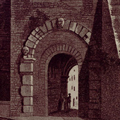 Veduta della Porta all'Arco