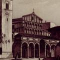 Veduta della Cattedrale di Pistoja