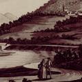 Veduta dei due Castelli Albiano e Caprigliola