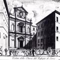 Veduta della Chiesa del Refugio di Siena
