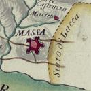 Massa e dintorni in una carta settecentesca di Antonio Giachi